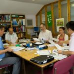 Cambridge CAE students in class