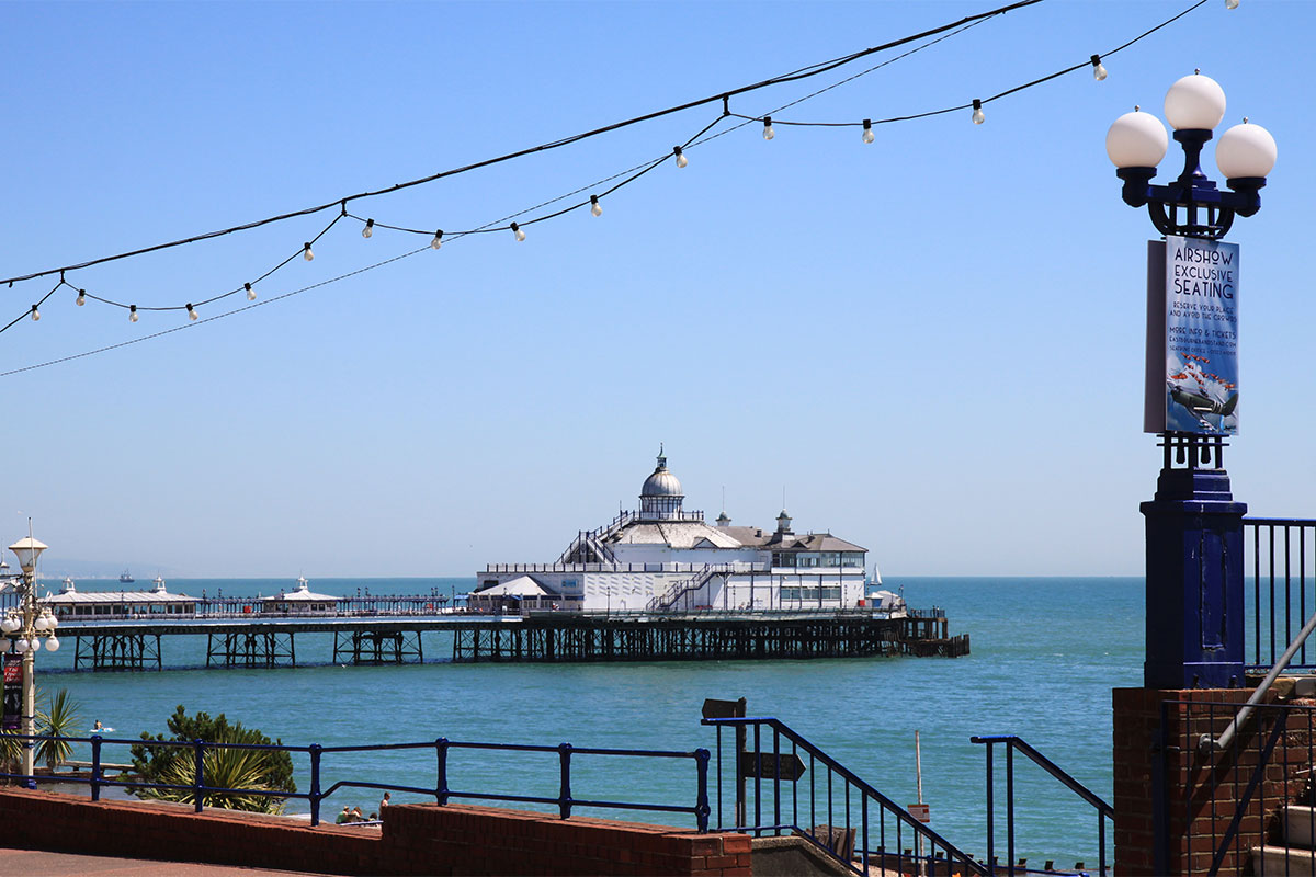 Pier in Eastbourne