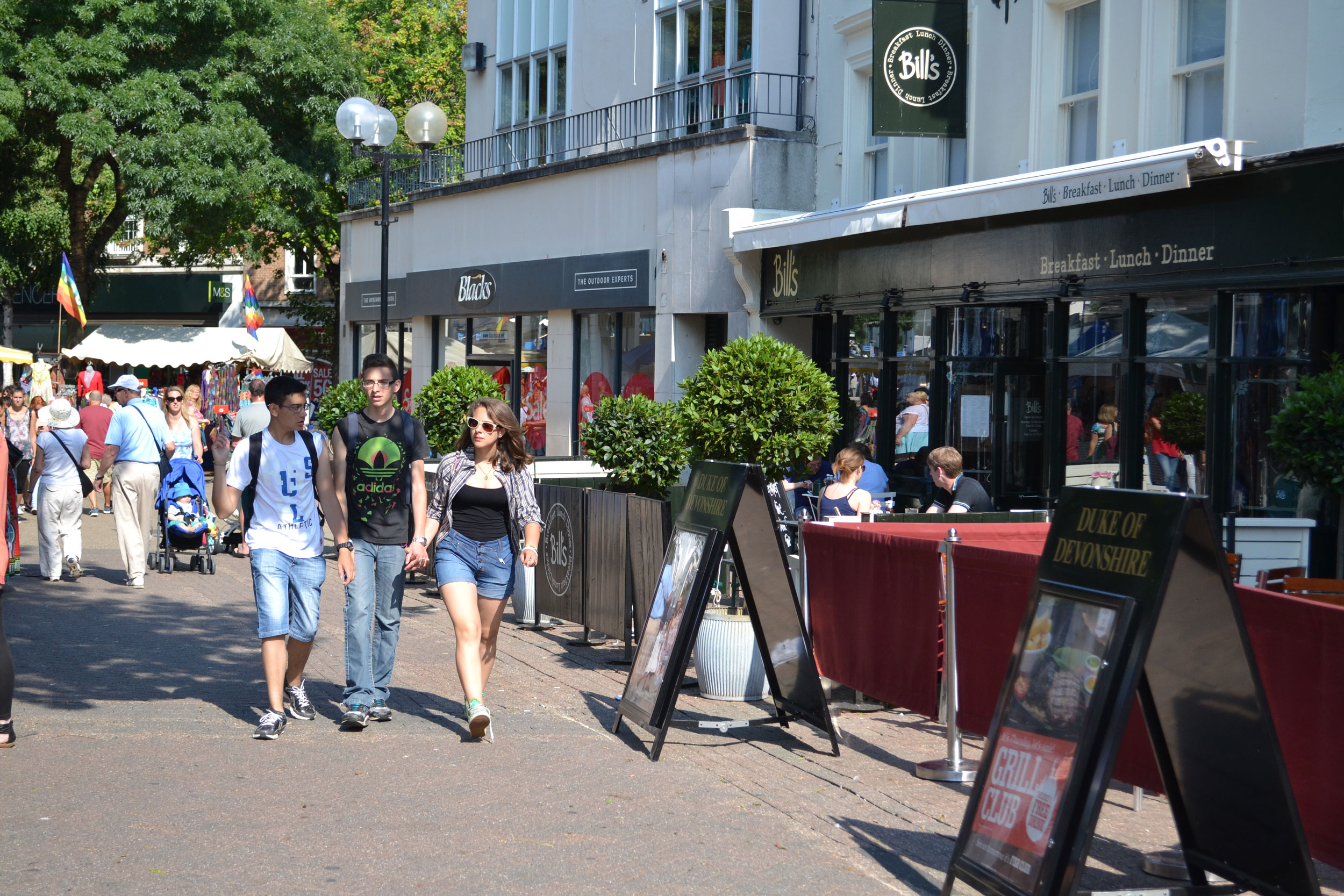 Eastbourne town centre