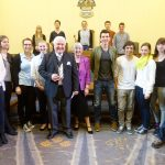 group with the Major of Worthing