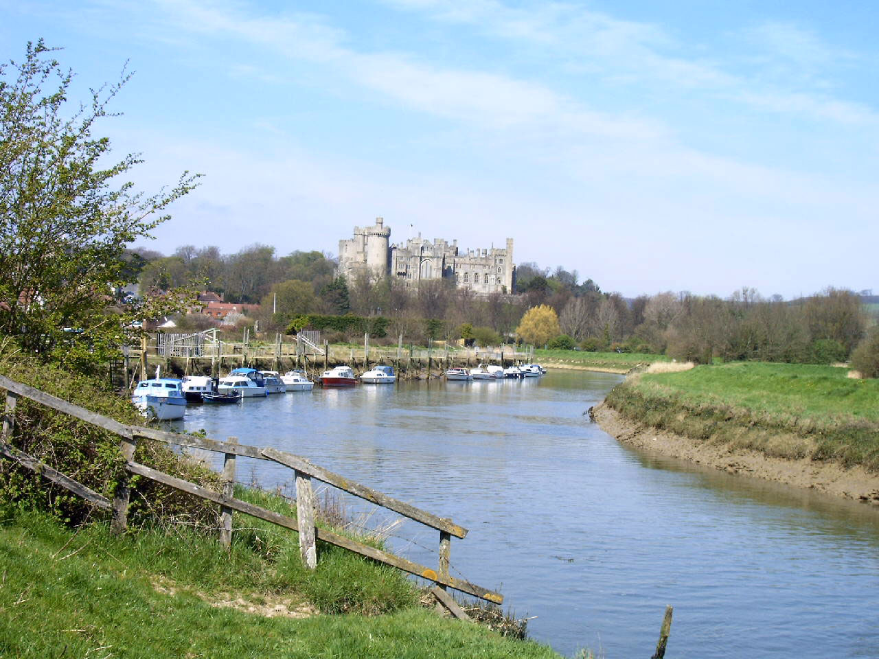 Worthing CES Arundel river and castle