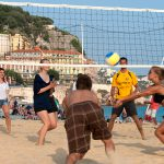 Beachvolleyball in Nizza