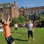 Volleyball am Princess Helena College Cambridge